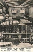 CPA-PUB-1955-USA-ARIZONA-MONT LEMMON  RUBIN S CABINS-TBE - Tucson