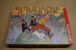 Tintin,Hergé,ancien Jeu De Société,Tintin Et Le Piège Du Totem Dhor,complet,a L'état Neuf Pour Collection - Hergé