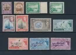 BERMUDA, 1906-1960s 11 Stamps Very Fine MM - Bermuda