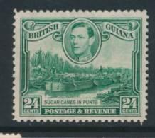 BRITISH GUIANA, 1938 24c Wmk Upright  Very Fine MM, SG312, Cat £24 - British Guiana (...-1966)