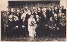 AK Foto Hochzeitsgesellschaft - Ca. 1910 (31310) - Noces