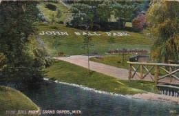 Michigan Grand Rapids Scene In John Ball Park
