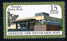 1988 Gebäude Der Deutschen Post, Michel 3145  Mit Plattenfehler II Siehe Scan In Postfrisch Xx - DDR
