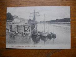 Repro , Cartes D'autrefois , Saint-valéry-sur-somme , Le Port - Saint Valery Sur Somme