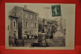 Beaulieu - Place De La Fontaine - Frankrijk