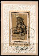 DDR - Michel Block 93 = 3167 - OO Gestempelt (A) - 70Pf  Ulrich Von Hutten - [6] Oost-Duitsland