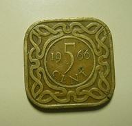 Suriname 5 Cent 1966 - Coins