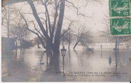 Paris - La Grande Crue De La Seine ( Janvier 1910 ) - Le Jardin Du Vert-Galant Au Pont-Neuf - ND Phot 28 - Inondations De 1910