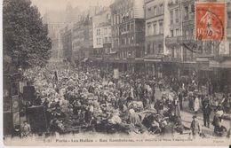 2181 - Paris - Les Halles - Rue Rambuteau Vue Depuis Le Père Tranquille - ELD Paris - Arrondissement: 01