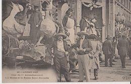 Mi-Carême 1907 - Char Du 1er Arrondissement Les Halles Et La Pointe Saint-Eustache - ELD - Arrondissement: 01