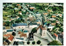 18974 CPM  GOUZON : Superbe Vue Aérienne Du Quartier L'Eglise  , De Carte Photo  ACHAT DIRECT ! - Other Municipalities