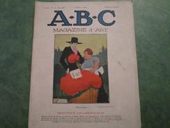 A.B.C. MAGAZINE D'ART . 3ème Année N°27 (36 Pages) - Art