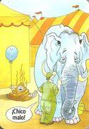 ELEPHANT * ANIMAL * CIRCUS * BALLOON * HUMOR * HUMOUR * DRAWING * CALENDAR * L-212 2011 * Spain - Calendarios