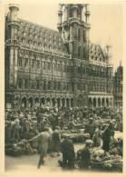 CPM - BRUXELLES - Grand'Place, Marché Matinal - Marchés