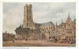 Cathédrale De MALINES En 1833, D'après S. Prout - Mechelen