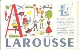 Buvard LAROUSSE Lettre A - Stationeries (flat Articles)