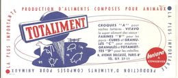Buvard TOTALIMENT La Plus Importante Production D'aliments Composés Pour Les Animaux - Animals
