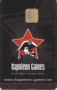 Napoleon Games - Berlare Belgium - Casino Slot Card  .....[FSC]..... - Casino Cards