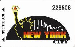 New York City Casino - Peru - Slot Card - Casino Cards