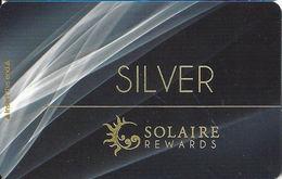 Solaire Casino - Phillipines - Slot Card - Casino Cards