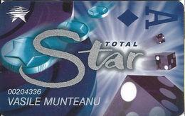 Starcity Casino - Australia - Slot Card - 3 Lines Of Text On Reverse - Casino Cards