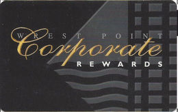 Wrest Point Hotel Casino - Australia - BLANK Slot Card - Casino Cards