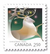 2017 Canada Christmas Caribou Single Stamp From Booklet MNH - Carnets