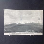 CP. 2050. Bagneres-de-Bigorre. Vue Panoramique De La Chaîne Des Pyrénées - Bagneres De Bigorre