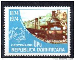 DOMINICAINE  N° 754 * *    Upu   Trains - Eisenbahnen