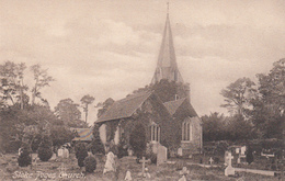 Vintage - England Buckinghamshire - Stoke Poges Church - Cemetery - Black & White Card In Excellent Condition - 2 Scans - Buckinghamshire