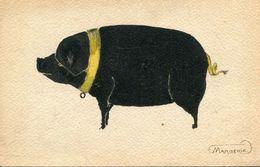 COCHON(CARTE PEINTE) - Cochons