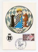 Francia - 1974 - XXI° Giochi Olimpici Scacchi - Con Annullo Filatelico - (Vedi Foto) - (FDC6065) - Scacchi