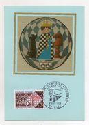 Francia - 1974 - XXI° Giochi Olimpici Scacchi - Con Annullo Filatelico - (Vedi Foto) - (FDC6066) - Scacchi