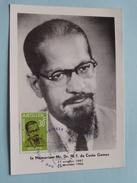 In MEMORIAM Mr. Dr. M. F. Da COSTA GOMEZ ( 1907-1966 )  1966 ( Zie Foto ) ! - Antilles