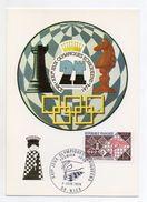 Francia - 1974 - XXI° Giochi Olimpici Scacchi - Con Annullo Filatelico - (Vedi Foto) - (FDC6067) - Scacchi