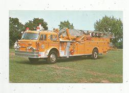 Cp , SAPEURS POMPIERS , Camion , Washington Hose & Steam Fire Engine Co. 1 , Conshohocken,PA. , 1974, American La France - Vrachtwagens En LGV
