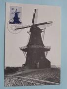 ACHTKANTE STELLING-KORENMOLEN DOKUM - 1963 ( Zie Foto ) ! - Cartes-Maximum (CM)