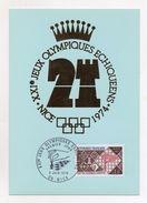 Francia - 1974 - XXI° Giochi Olimpici Scacchi - Con Annullo Filatelico - (Vedi Foto) - (FDC6068) - Scacchi