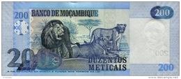 MOZAMBIQUE P. 152a 200 M 2011 UNC - Mozambico