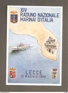 XIV RADUNO NAZIONALE MARINAI D'ITALIA  LECCE 1996  CARTOLINA - Other