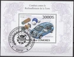 Bf. 254 Isole Comore 2010 Sorgenti Alternative D'energia Auto Car CTO Union Des Comores - Isole Comore (1975-...)