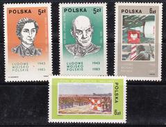Pologne 1983 N° Y&T :   2695 à 2698 ** - 1944-.... République