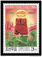 North Korea 2007 Mih. 5188 Propaganda. National Defence Upbuilding And Economic Construction MNH ** - Korea (Nord-)
