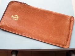 U.S.N. ( United States NAVY ) Document MAP ( Leather ) Size 26,5 X 12,5 CM. ( U.S.A. / Zie Foto ) ! - Vieux Papiers