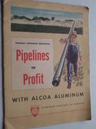 ALCOA Aluminium Cy Of America PIPELINES To PROFIT Portable Sprinkler Irrigation ( Zie Foto ) Magazine / Tijdschrift ! - Pubblicitari