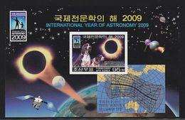 Korea North 2009 Dog  Solar Eclipse MNH 1SS Imperforate - Korea (Nord-)