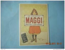 CLOUET    10449  MAGGI    BOUISSET - Advertising