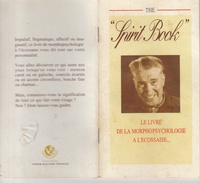 """17 / 11 / 57  - PETIT  LIVRE  (  14,50 Cms  X 8  )  """"  SPIRIT  BOOK  """"  - Le Livre De La Morphopsychologie à L'écossaise - Books, Magazines, Comics"""