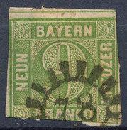 Stamp Bavaria 1850-58 9kr Used Lot #91 - Bavaria