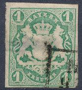 Stamp Bavaria 1867 1kr Used Lot #2 - Bavaria